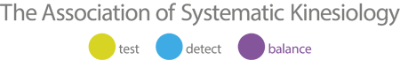 Association of Systematic Kinesiology Logo